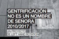 left hand rotation gentrificación